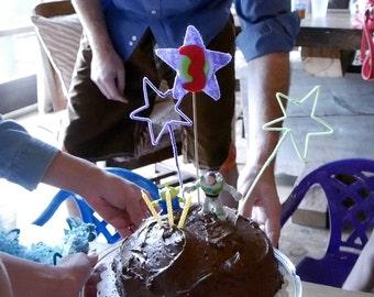 Starry Cake Topper