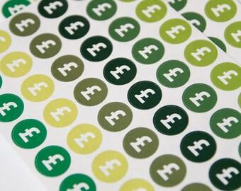 48 bill due sticker, payday stickers, pound sign finance sticker, planner stickers,  budget money sticker eclp filofax happy planner