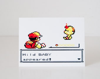 Pokemon greeting card for new parents!