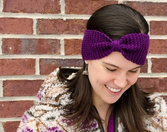 Knitted Ear Warmer // Knitted Headband