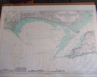 England - South Coast - Western Approaches to the Solent including Needles Channel and Christchurch Bay - Nautical Chart, 4523
