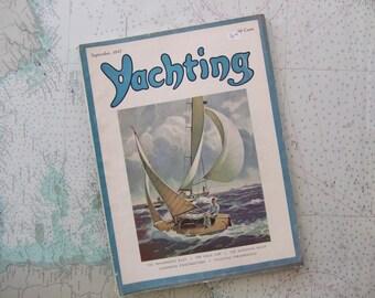 Yachting Magazine ~ September, 1947