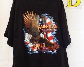 American By Birth Biker By Choice Shirt