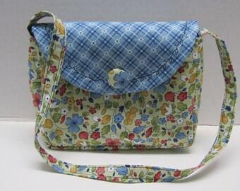 Little Girls Purse Little Darlings Fabric