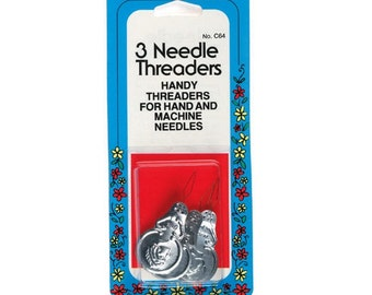 Needle Threader by Collins 3 Per Package Item # W-64