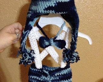 Crocheted newborn oufits/ newborn/ photoprop/ crochet/ whole outfit