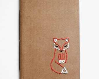Lost in childhood, handmade notebook
