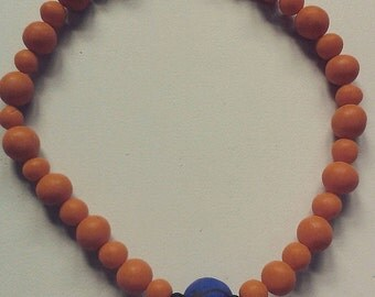 Lollies - A vibrant handmade necklace, formed by handmade beads