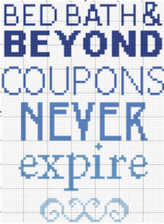 pdf broad city bed bath and beyond coupons cross stitch downloadable digital pattern from. Black Bedroom Furniture Sets. Home Design Ideas