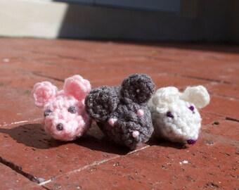 Mouse Catnip Cat Toy (Set of 2)