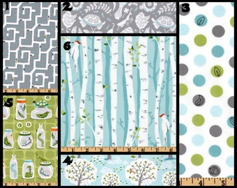 Custom Nursery Fabric Choices Michael Miller Backyard Baby