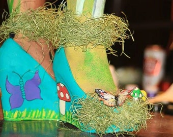 Whimsical Garden Shoes
