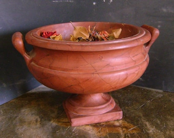 Cup red marble ancient Peloponnesian
