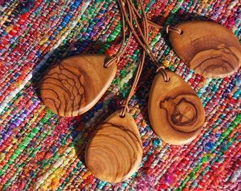Olive Wood Pendant