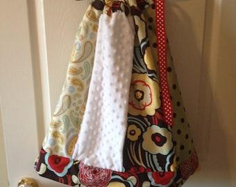 Paneled Pillowcase Dress