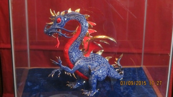 Blue and Red dragon