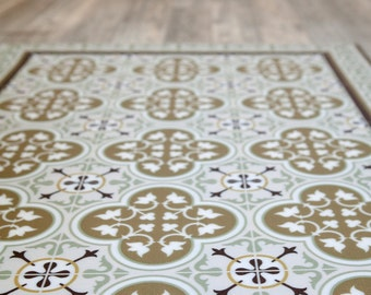 pvc vinyl mat tiles pattern decorative linoleum rug color. Black Bedroom Furniture Sets. Home Design Ideas