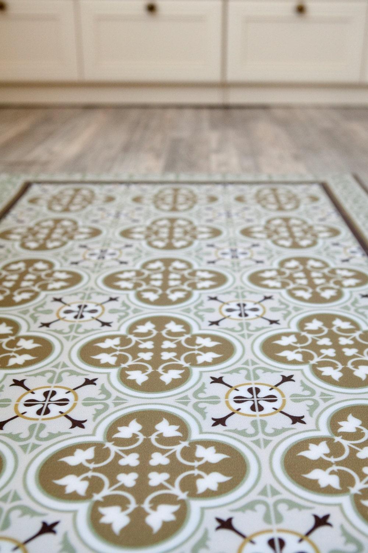 free shipping tiles pattern decorative pvc vinyl mat linoleum. Black Bedroom Furniture Sets. Home Design Ideas