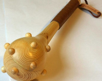 Toy wooden mace