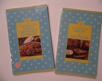 Two Vintage Cookbooks/ Cookies for Holidays and Everyday / Muffins and Quickbreads