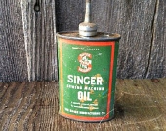 Singer Sewing Machine Oil Can