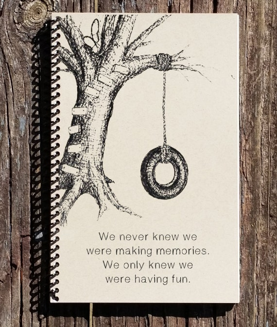 Tire Quotes Amusing Friendship Journal Friendship Notebook Tire Swing Picture