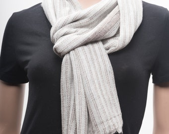 Handwoven Cashmere Scarf