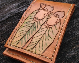 Handmade Leather Wallet and iPhone Case