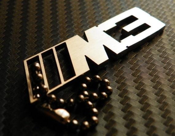 BMW M3 Keychain key tag