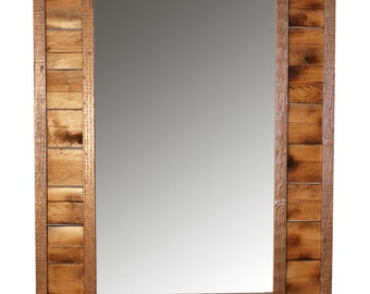 Handmade Reclaimed Pallet Wood Mirror