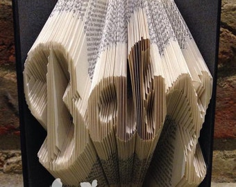 Book Sculpture 'Baby'