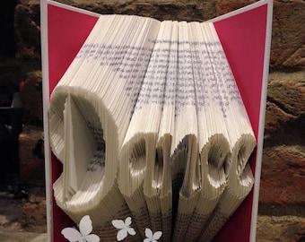Book Folding Pattern 'Dance' (274 Folds) PDF & Tutorial - Immediate Download