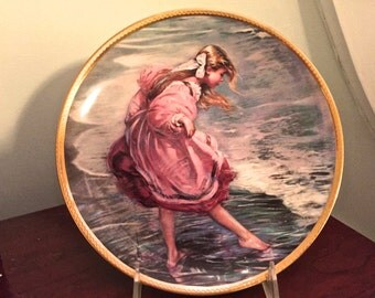 """1982 Heart of a Child by Alan Murray Collectible plate """"Little Miss Young and Fair"""""""