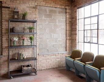 Vintage Industrial Shelving 1x3x6