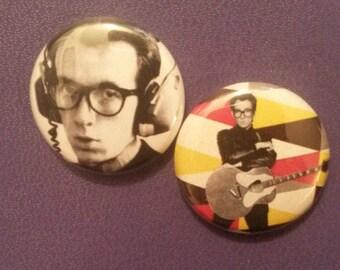 Elvis Costello Button Set