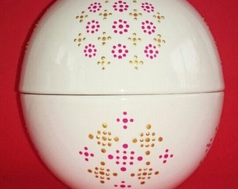 4 handpainted big bowls