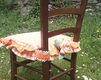 Cusino for Chair with flower