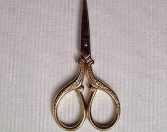 Embroider Scissors Gold