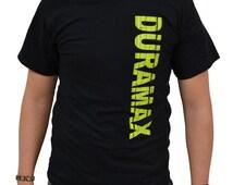 Duramax t-shirt with vertical logo