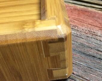Bamboo Wood Box