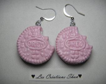 Oreo earrings