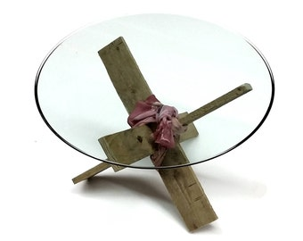 """KNOT Your Average Recycled Pallet Occasional Table, but Rather a """"NAUGHTY"""" Pallet Table"""