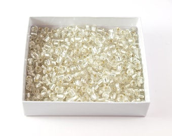 Clear Sparkly E-Beads - Lot of 100