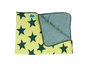 Baby Blanket. Yellow Star