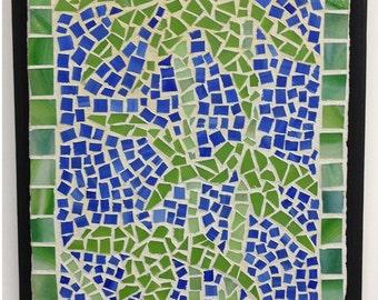 Bamboo Mosaic Plaque