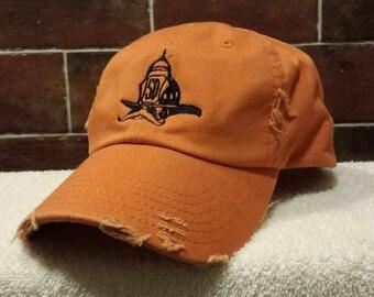 Firefighter Salty Dog Black Knit Skull Hat By Saltydogapparel