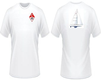 Catalina 42 Sailboat T-Shirt