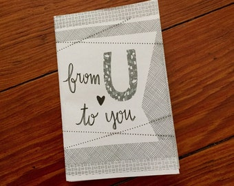 Mini zine: From U to You