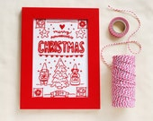 2014 Christmas Sampler Hand Embroidery Pattern