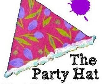 Painting class Portrait tutorials How to paint a face Party Hat online workshop tutorial